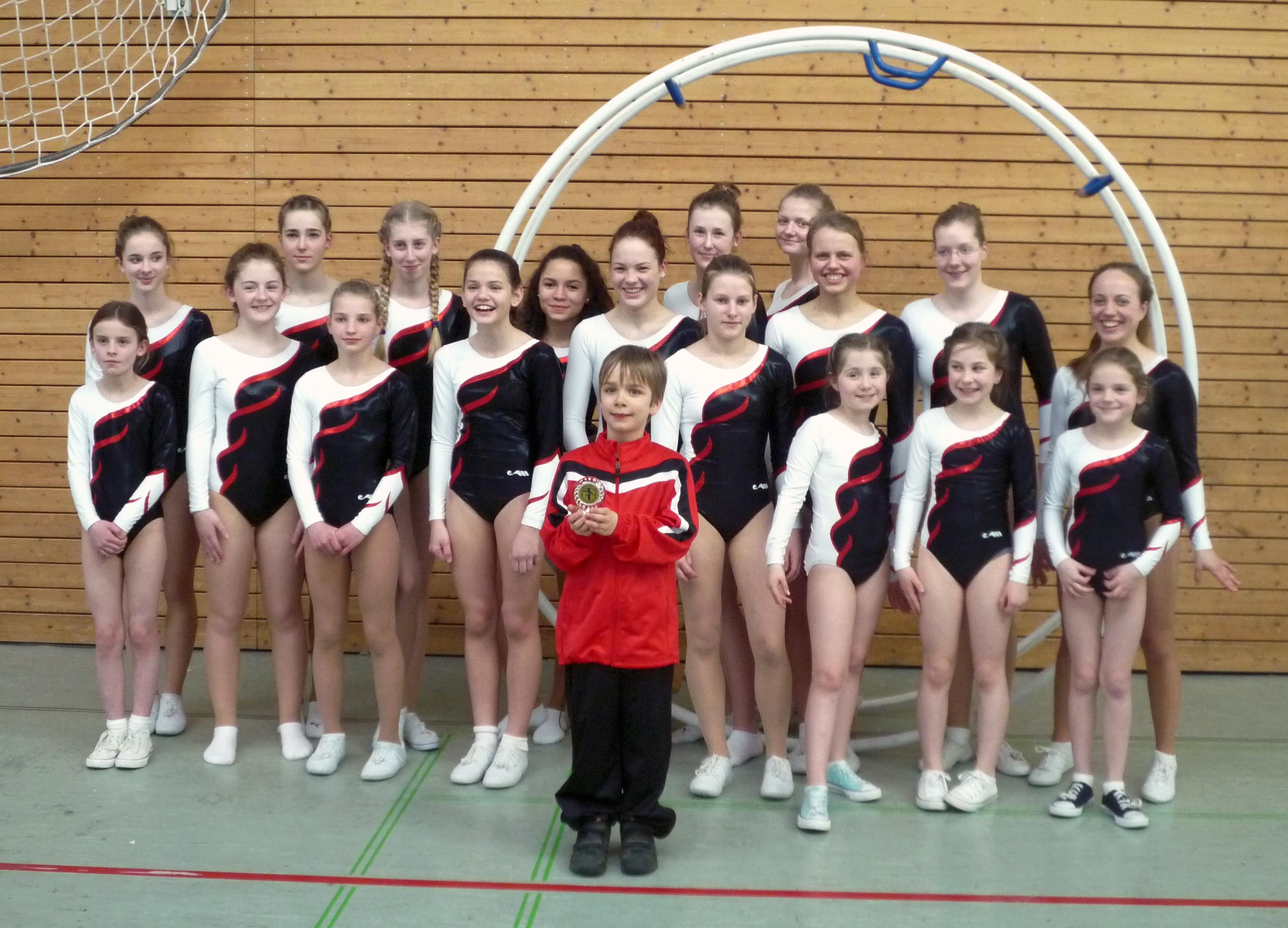 Die BTV-Mannschaft beim Liedbergpokal 201